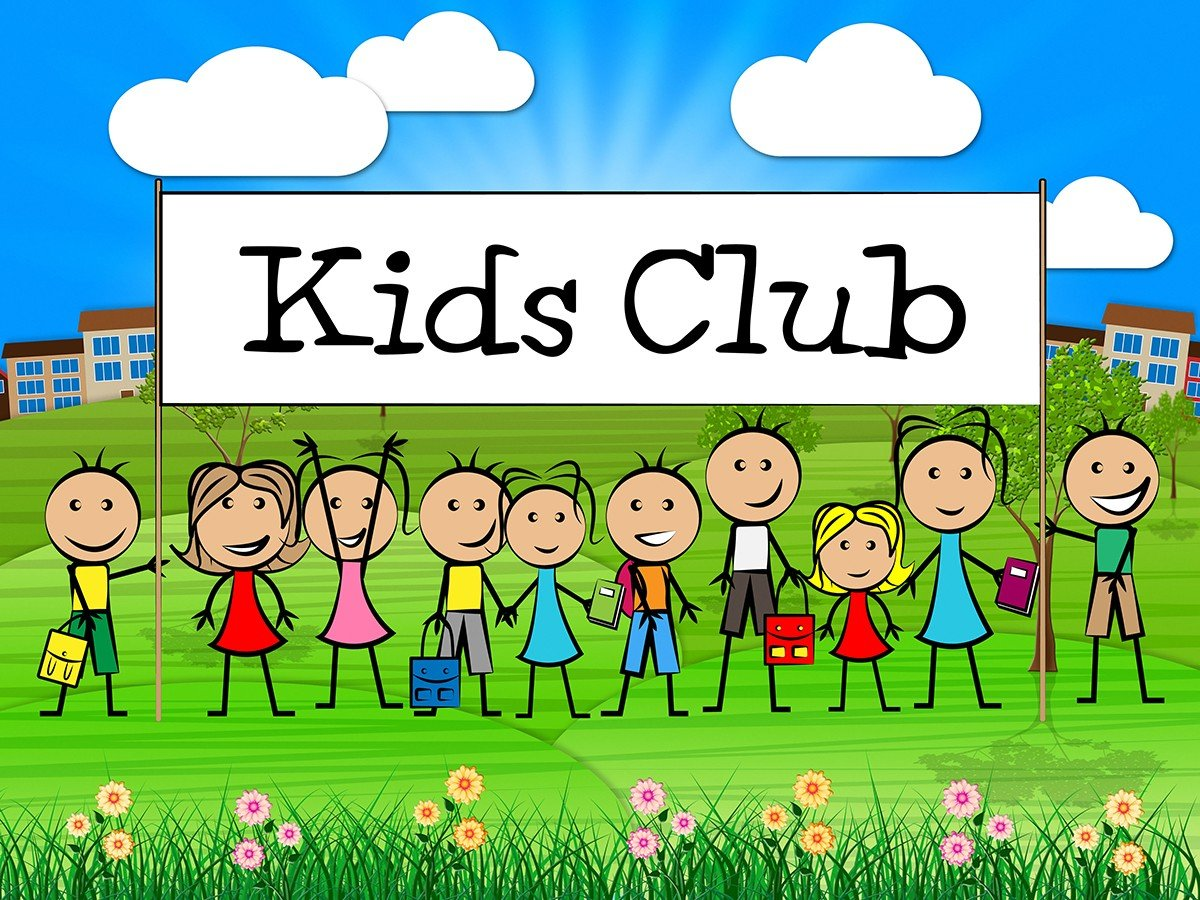 Kids Club Sign